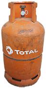 Bouteille de gaz de 12.5 kg
