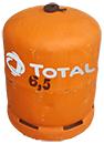Bouteille de gaz de 3 Kg